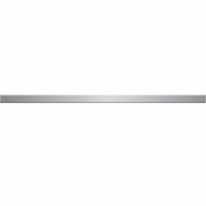 Бордюр металлический серебряный 2,2*63 см