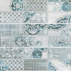 Настенная плитка Caspian grey wall 02 10х30 см