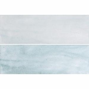 Настенная плитка Caspian turquoise wall 02 10х30 см
