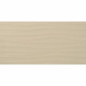 Настенная плитка Дюна 30х60см бежевая рельефная
