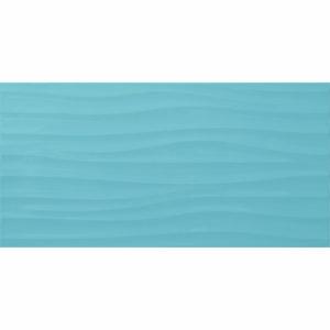 Настенная плитка Дюна 30х60см бирюзовая рельефная