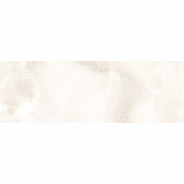 Настенная плитка Асуан 25*75см белая глянцевая