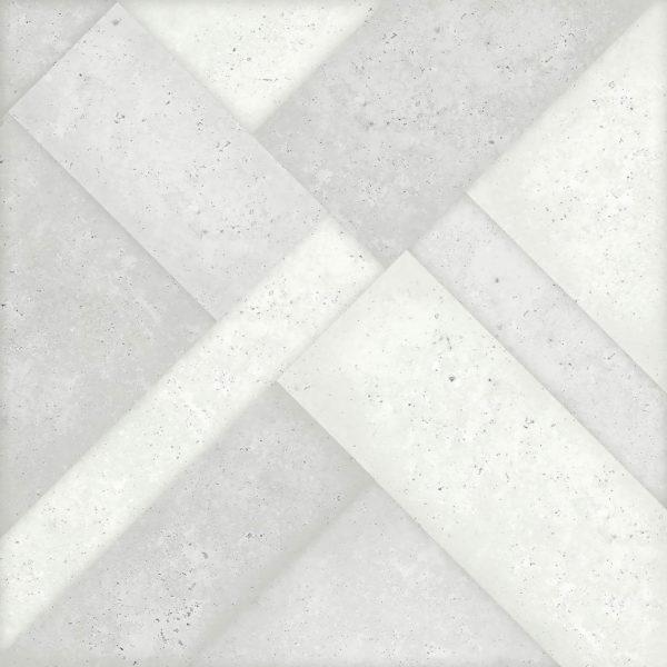 Керамогранит Mica Puzzle White 410x410мм