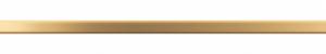 Бордюр Sword Gold 500х13 мм