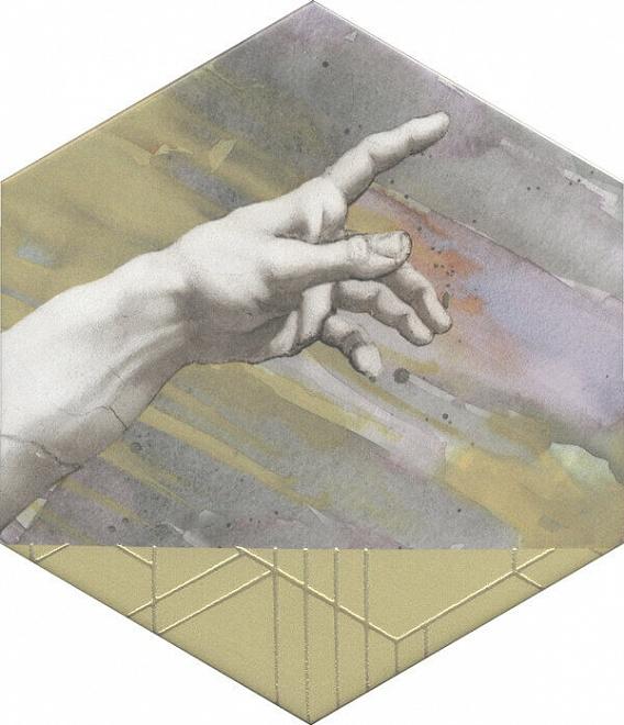 Декор Ателлани 200х231 мм