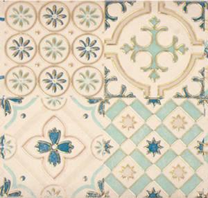 Настенная плитка декор Парижанка 200x600 мм мозаика