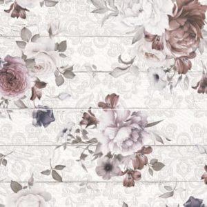 Панно настенное Шебби Шик 400х600 мм цветы 2шт