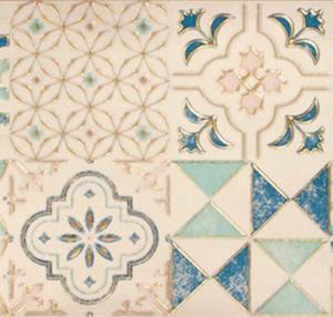 Настенная плитка декор Парижанка 200x600 мм арт-мозаика