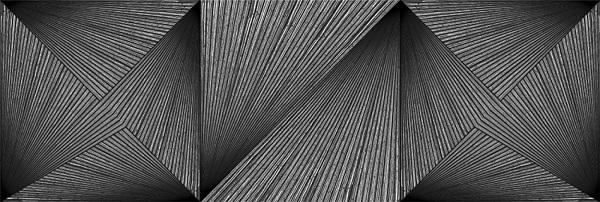 Настенная плитка Delice Black 600х200 мм