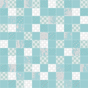 Мозаика Aquamarine 305х305 мм