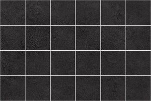 Alabama декор мозаичный чёрный 200х600 мм