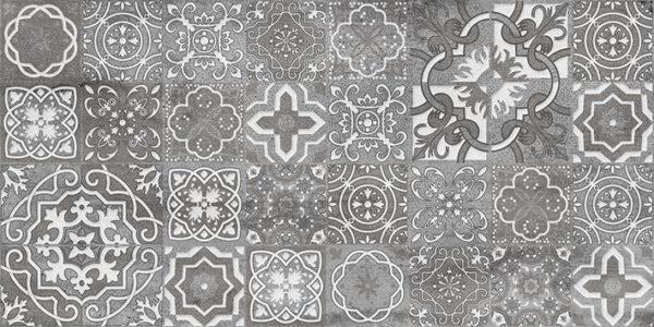 Декор Concrete vimp тёмно-серый 300х600 мм