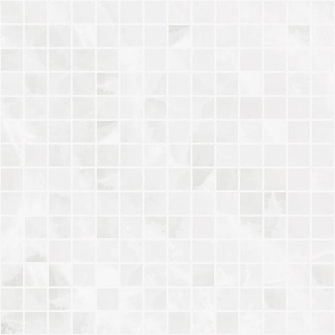 Мозаика Plazma белая 300х300 мм