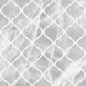 Декор Plazma nuance серый 300х600 мм