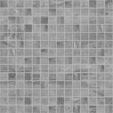Мозаика Concrete тёмно-серая 300х300 мм