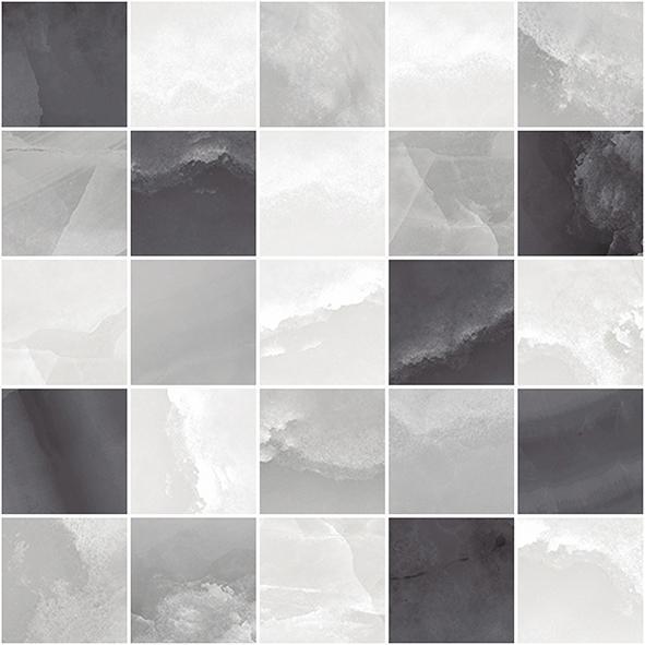 Мозаика Prime серая микс 250х250 мм