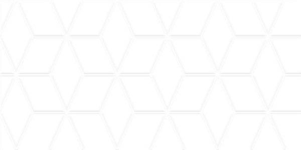 Плитка настенная Tabu белая рельеф 300х600 мм