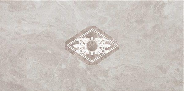 Декор Inserto + Ventana Oka Blade Perla 25x50 см