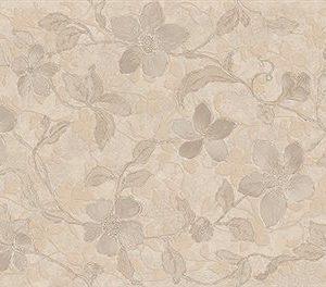 Настенная плитка Floral Beige 30x90 см