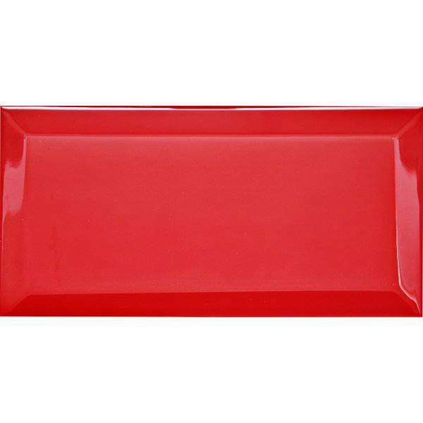 Настенная плитка (Кабанчик) Biselado Fuego Brillo 10x20 см