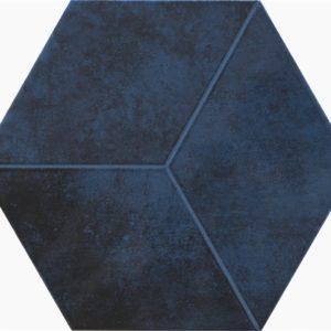 Настенная плитка Kingsbury navy 19,8x22,8 см