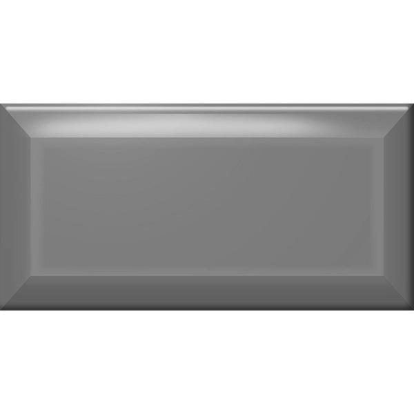 Настенная плитка (Кабанчик) Biselado Marengo Brillo 10x20 см