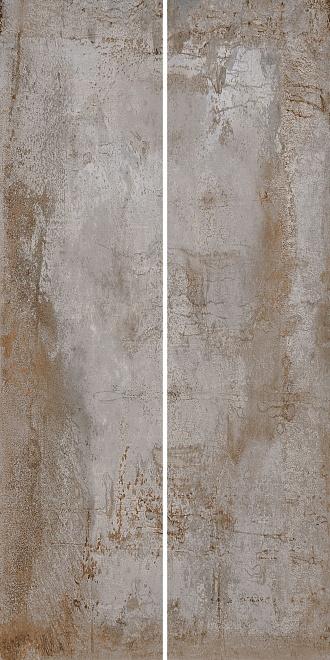 Керамогранит Беверелло серый светлый обрезной 20х80 см