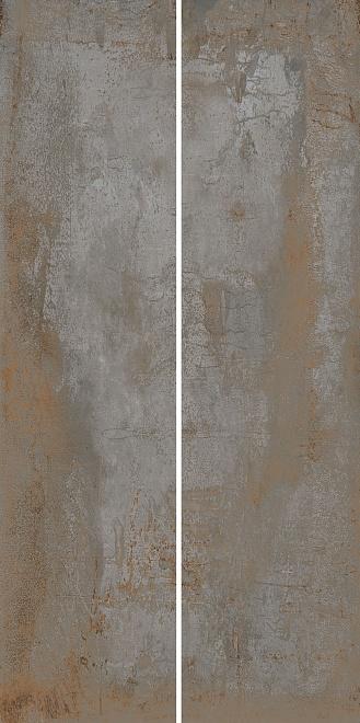 Керамогранит Беверелло серый обрезной 20х80 см