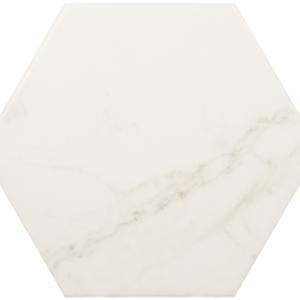 Плитка керамическая напольная CARRARA Hexagon Matt 17,5x20 см