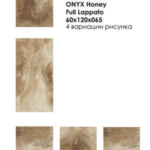 На главную Выбрать категорию Выбрать фабрику Onyx Honey Full Lappato 60x120