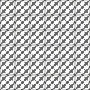 Купить керамогранит декор Эллен/Ellen 300x300 мм чёрно-белый в СПб
